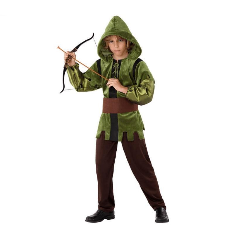 Disfraz De Arquero Para Niño Infantil Myhappyfun Disfraces Y Complementos