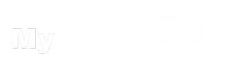 Logo Myhappyfun blanco y negro